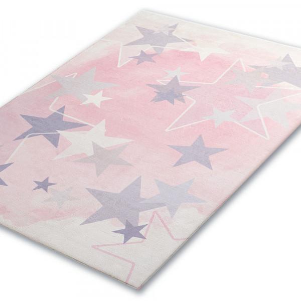 Sternen-Teppich für das Kinderzimmer