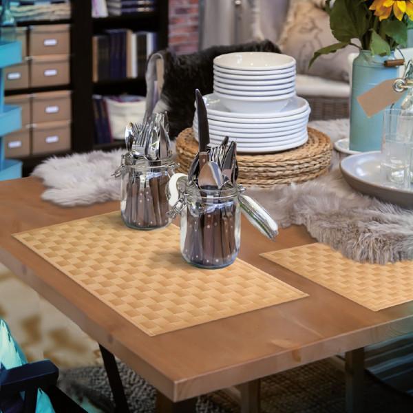 Hochwertig gewebtes Tischset für Ihr Esszimmer