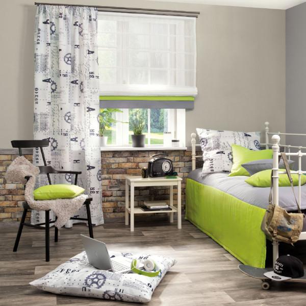 Gardine und passende Dekostoffe für Ihr Schlafzimmer
