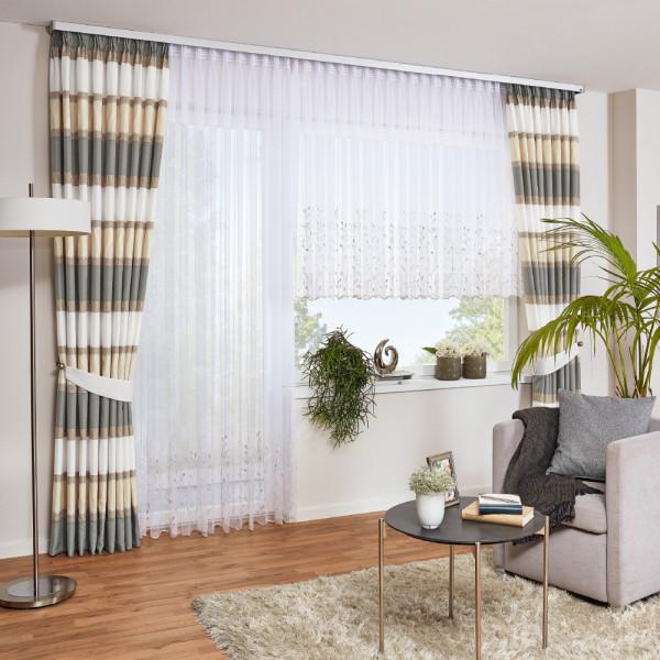 Vorhang und Stickerei-Gardine für Ihr Wohnzimmer