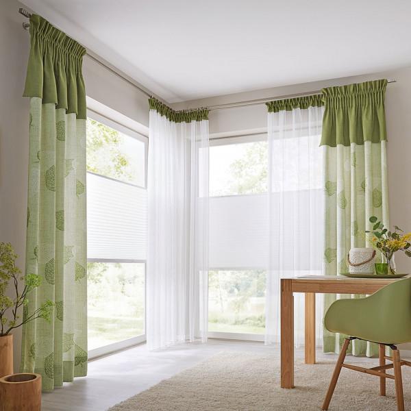 Vorhang-Gardinen-Deko für Ihr Ess- oder Arbeitszimmer