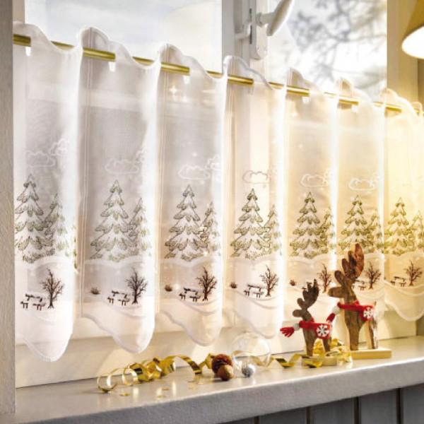 Winterliches Panneaux für Ihre Fenster