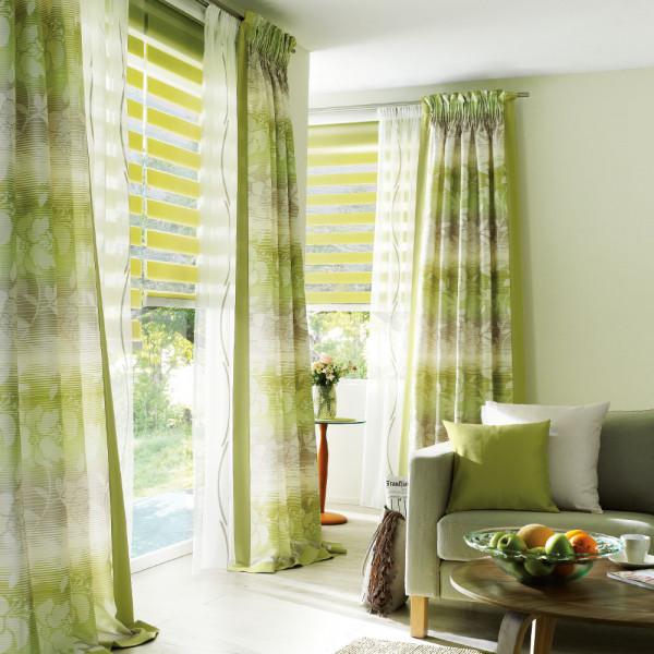 Natürliche Farben für Ihr Wohnzimmer-Fenster