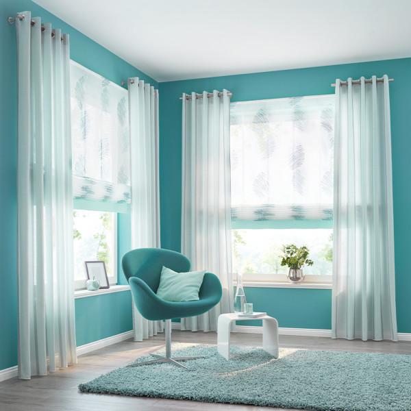 Gardinen-Kombination für Ihr Wohn- oder Schlafzimmer