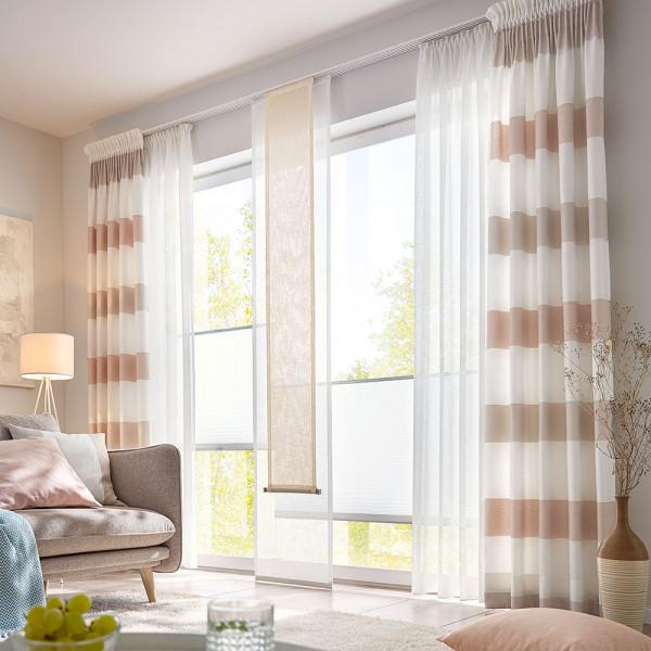 Gardine und Jaqcquard-Deko für Ihre Wohnräume