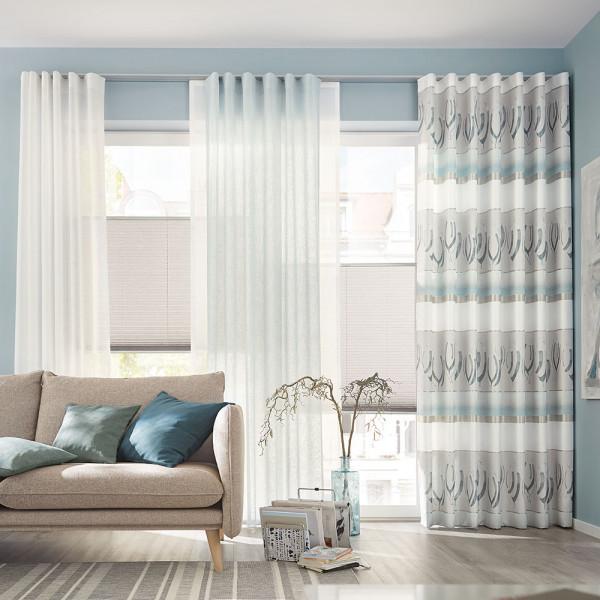 Gardinen-Vorhang-Kombi für Ihre Wohnräume