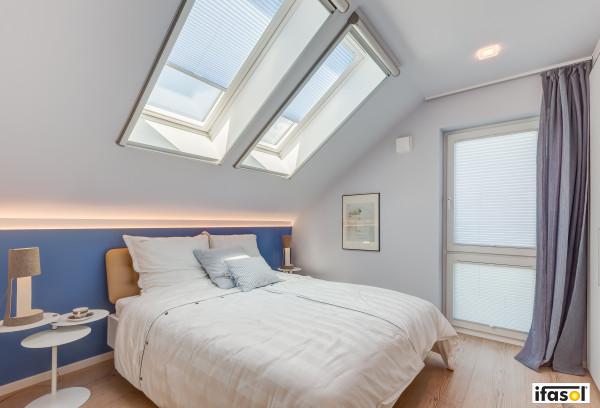 Plissee für Ihr Schlafzimmer