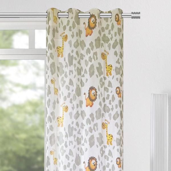 Ösen-Vorhang für Ihr Kinderzimmer