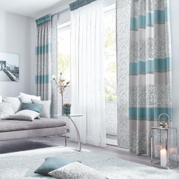 Jacquard Gardine für Ihr Wohnzimmer
