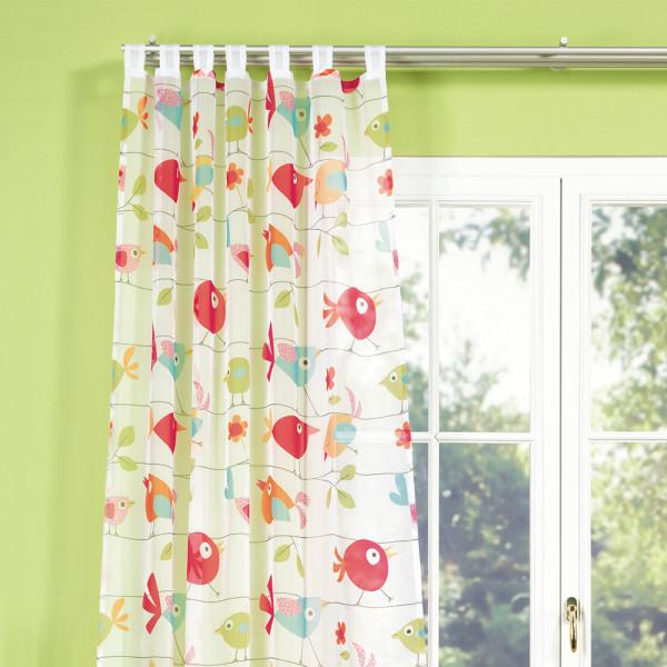 Schlaufen-Gardine für Ihr Kinderzimmer