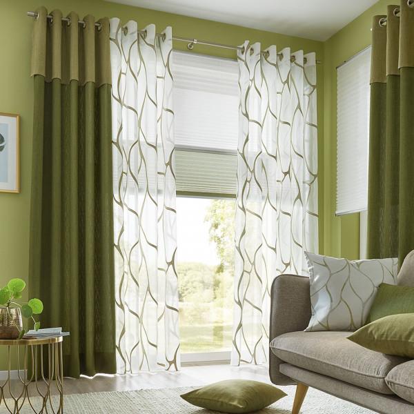 Gardine und Uni-Deko für Ihr Wohn- oder Schlafzimmer
