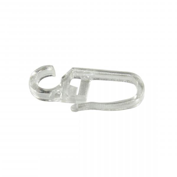 Faltenleghaken für Ringe mit Gleiteinalgen glasklar