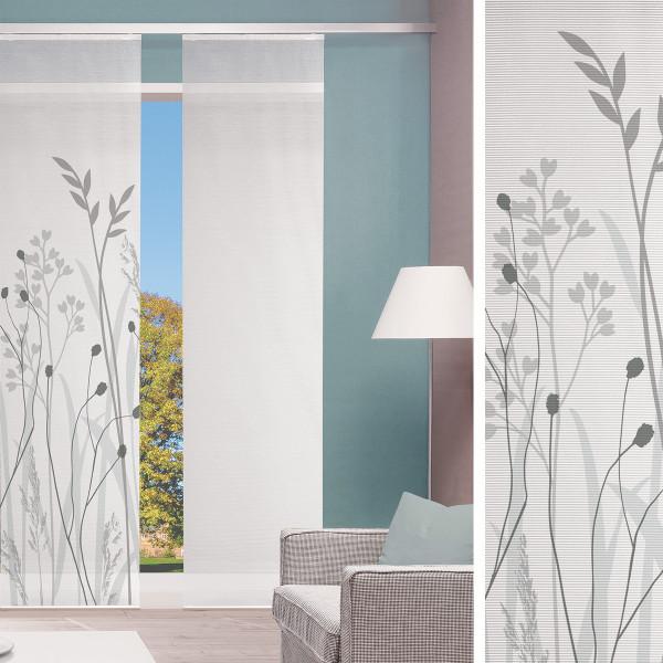 Flächenvorhang für Wohn- oder Schlafzimmer