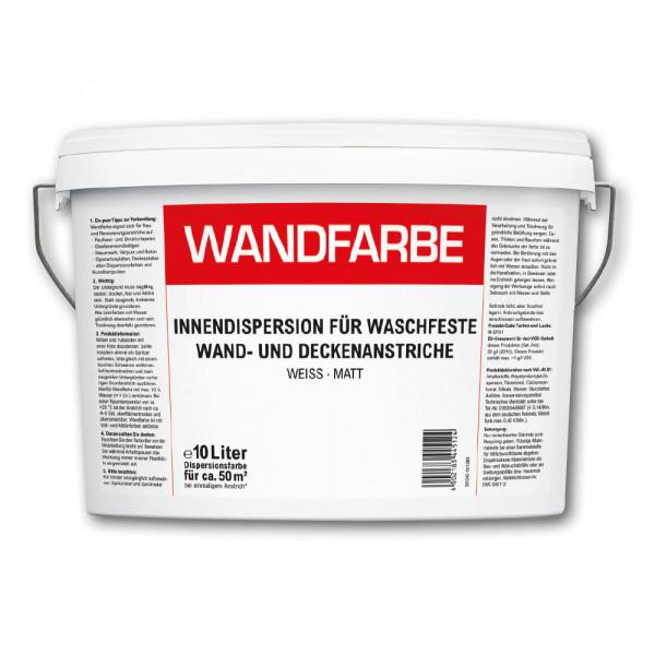 Wandfarbe Waschfest