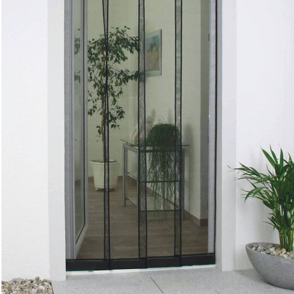 Insektenschutz-Lamellenvorhang für Balkon- und Terrassentür