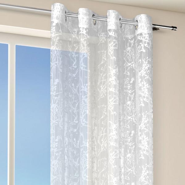 Ösenvorhang für Ihr Schlafzimmer