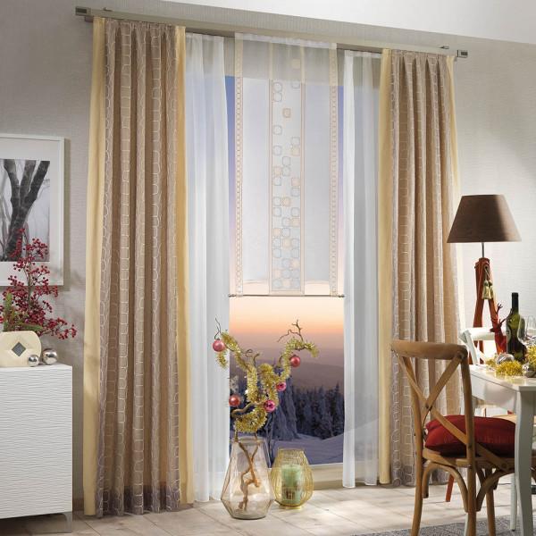 Gardinen-Deko-Kombination für Ihr Wohn- oder Schlafzimmer