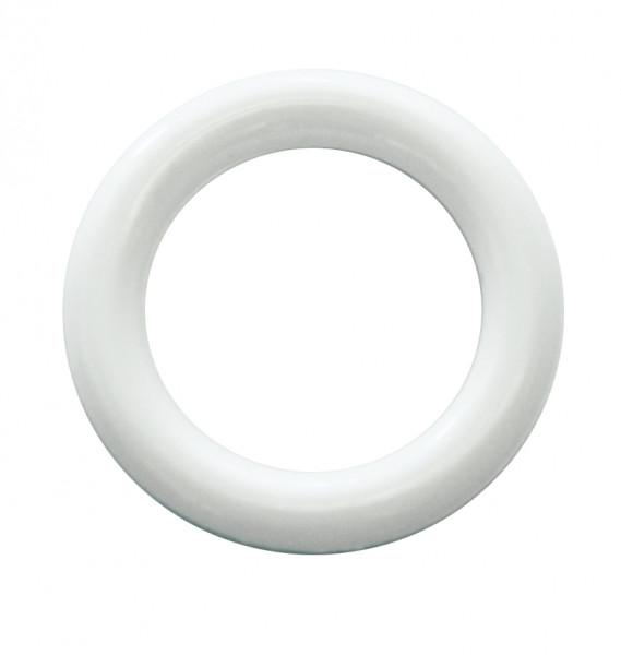 Kunststoff-Ring weiß
