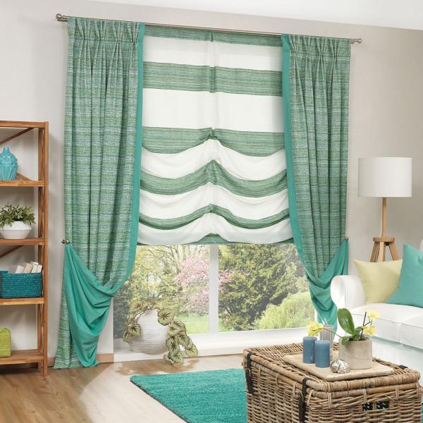 Vorhang-Dekoration für Ihr Wohnzimmer