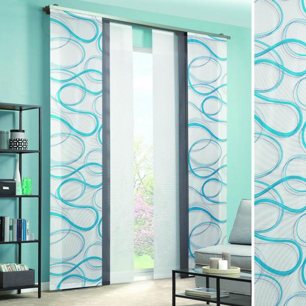 Gardine und Flächenvorhang für Ihr Wohnzimmer