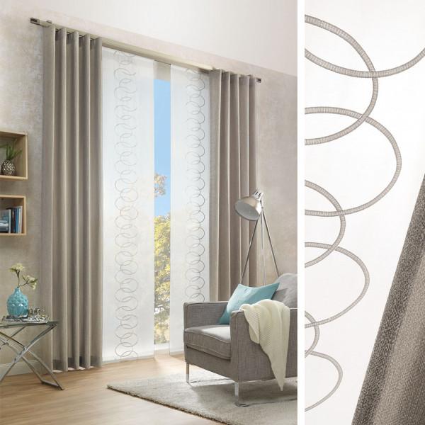 Vorhang und Flächen-Gardine für Ihren Wohnraum