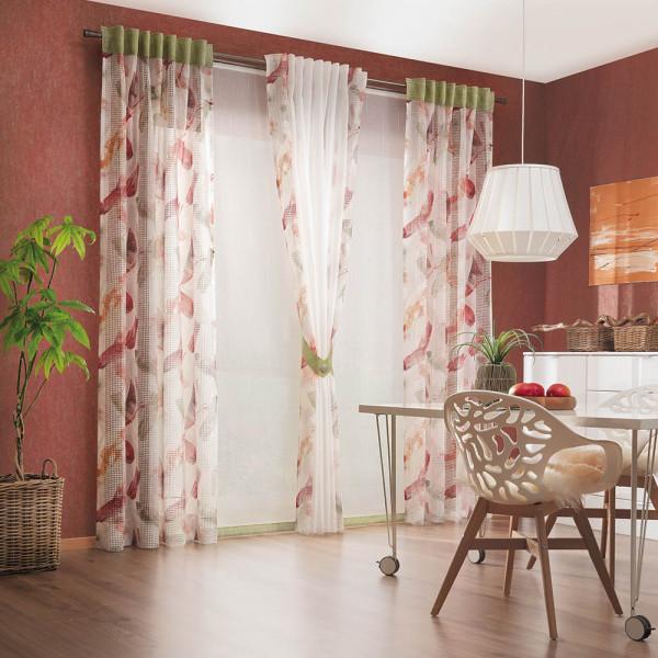 Vorhang-Gardinen-Kombi für Ihr Esszimmer