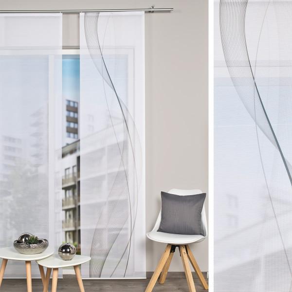 Flächenvorhang für Ihre Wohnräume