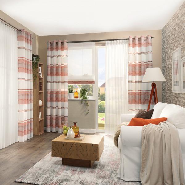 Gardine und Dekostoff für Ihr Wohnzimmer