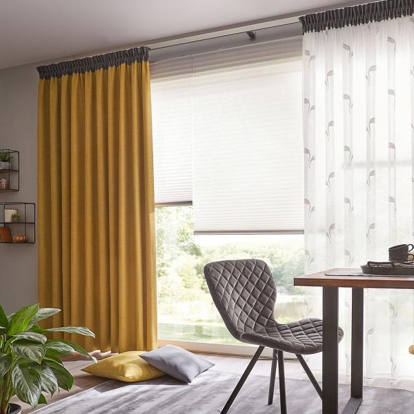 Vorhang-Gardinen-Deko für Ihr Ess- oder Wohnzimmer