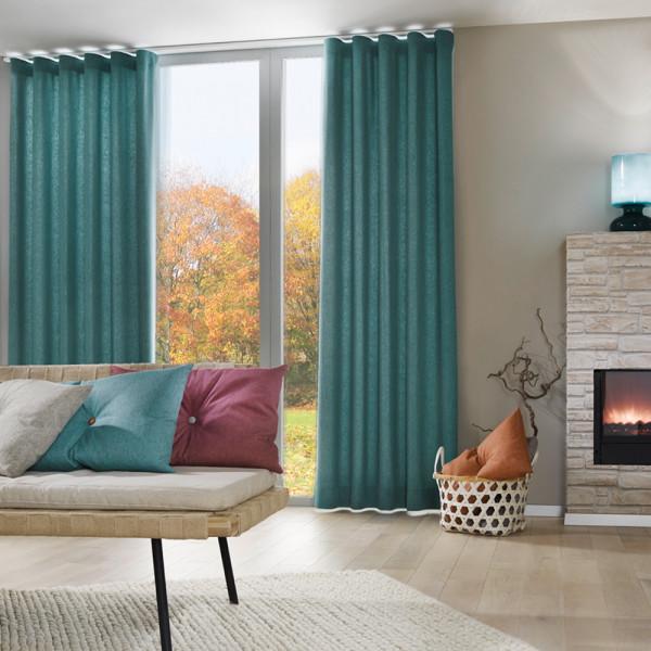 Dekostoff für Ihr Wohnzimmer-Fenster