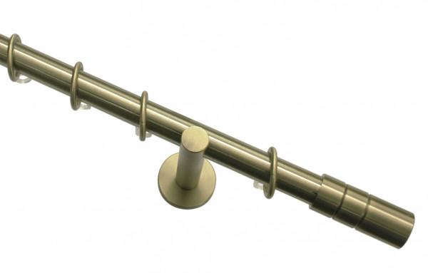 Stilgarnituren-Set 1-Lauf ZYLINDER messing-antik