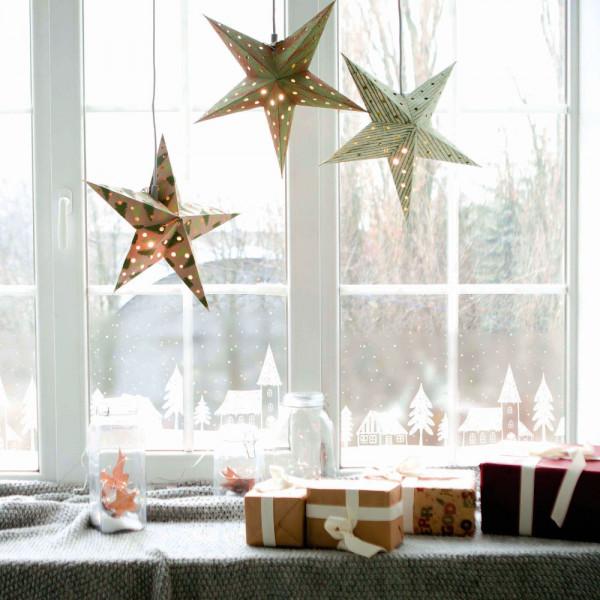 Fensterfolie zur Weihnachtsdeko