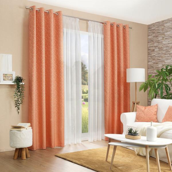 Gardinen-Deko für Ihr Wohnzimmer