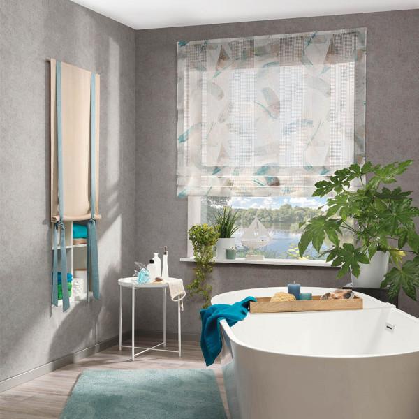 Vorhang-Deko für Ihr Badezimmer