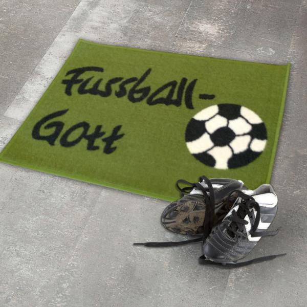 """Fußmatte """"Fußball-Gott"""""""
