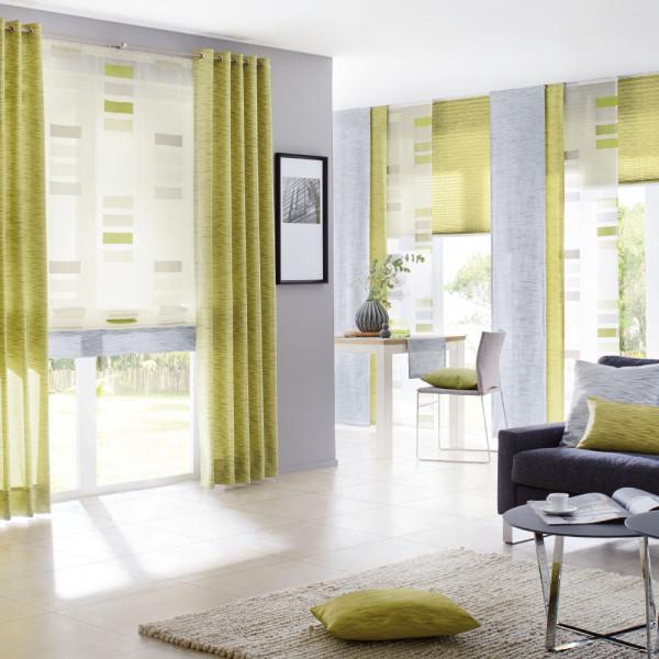 Store und Deko-Vorhang für Ihr Wohnzimmer