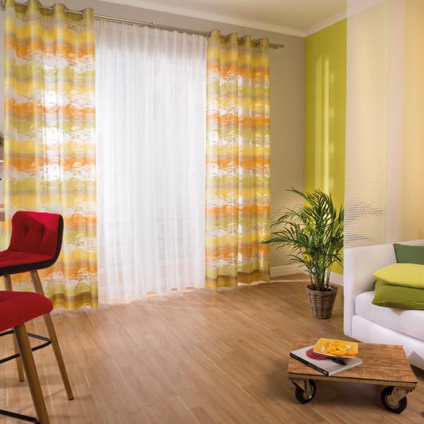 Deko-Vorhang und Gardine für Ihr Wohn- oder Esszimmer
