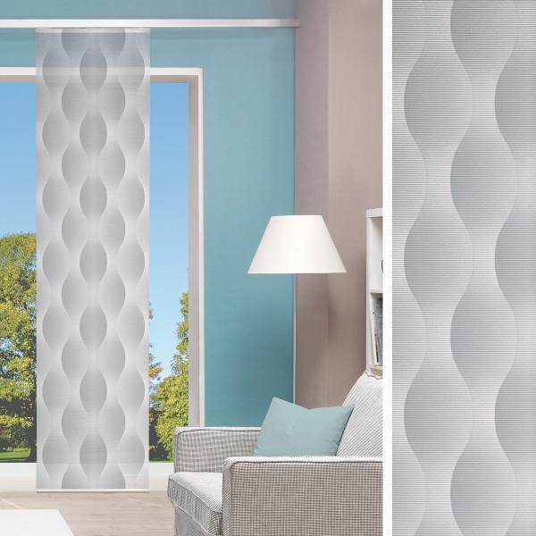 Flächenvorhang für Ihr Wohnzimmer