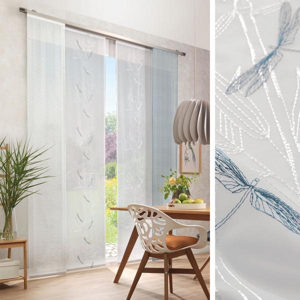 Flächen-Gardinen für Ihr Wohn- oder Esszimmer