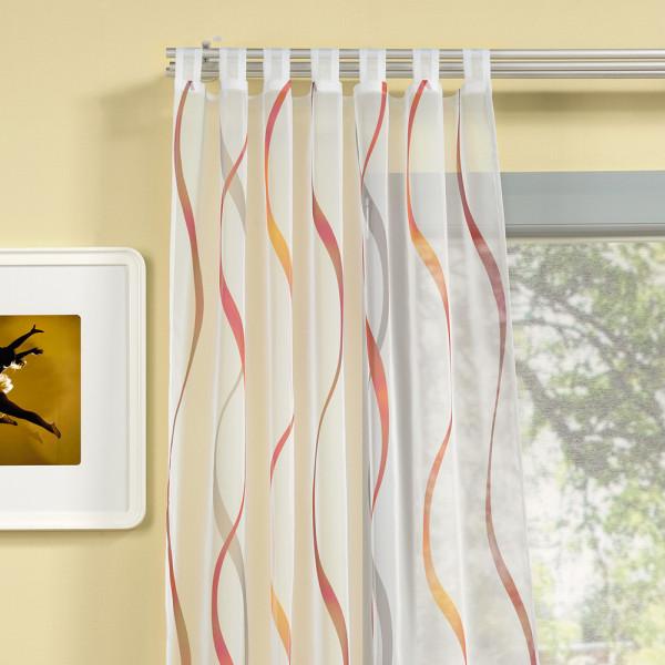Schlaufen-Gardine für Ihr Wohnzimmer