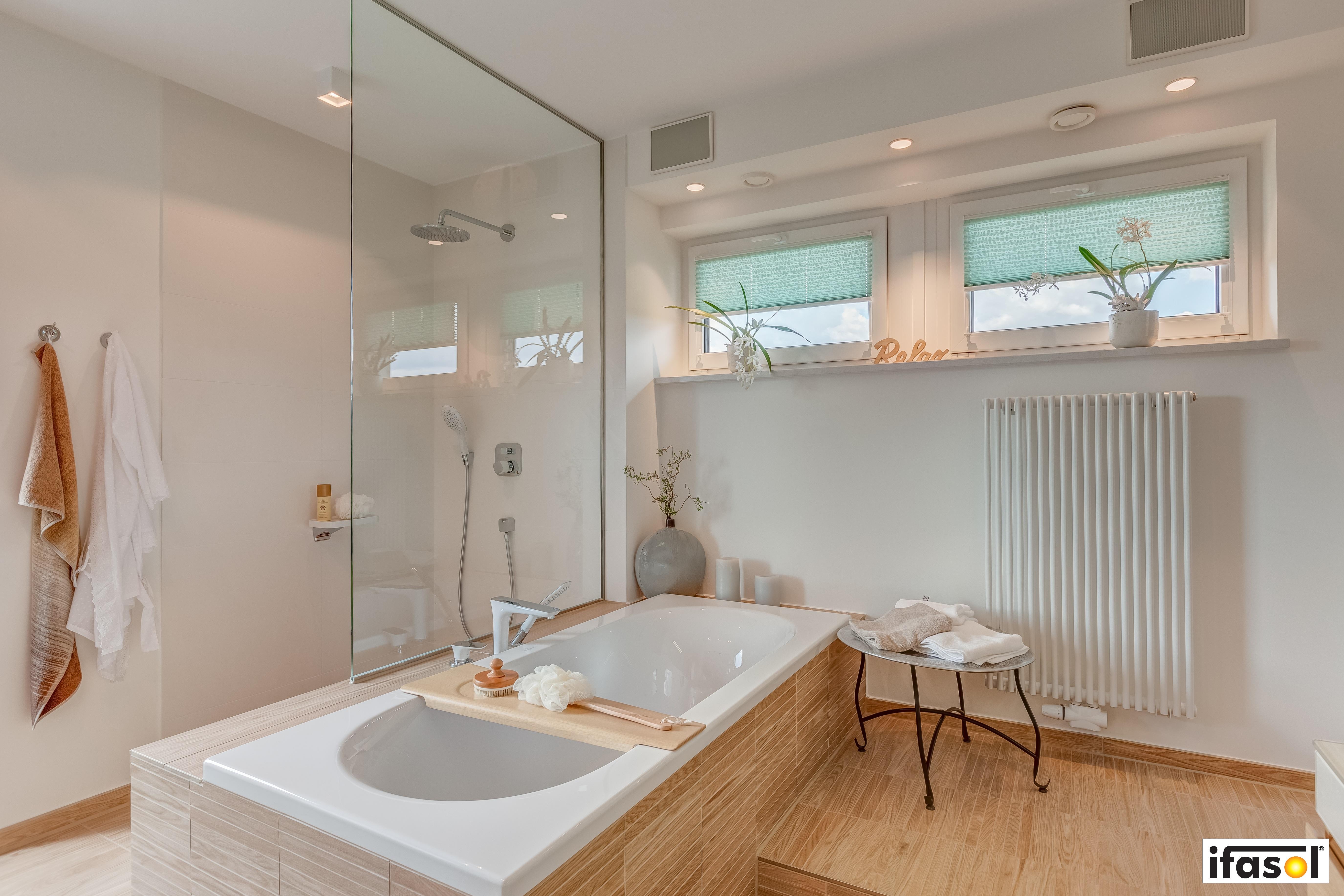 Plissees für Ihr Badezimmer  TTL/TTM