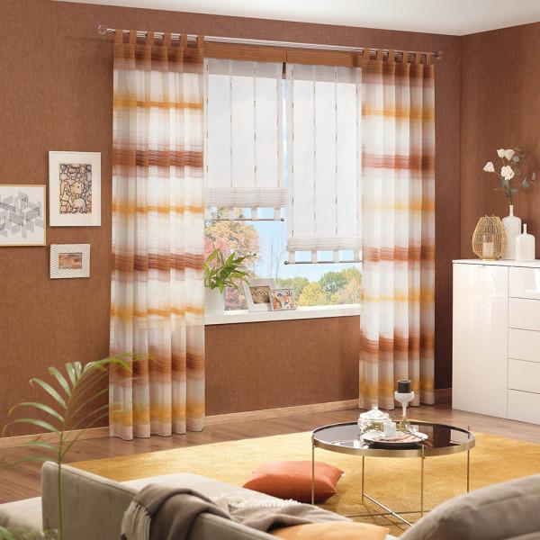 Gardinen-Vorhang-Kombi für Ihr Wohnzimmer