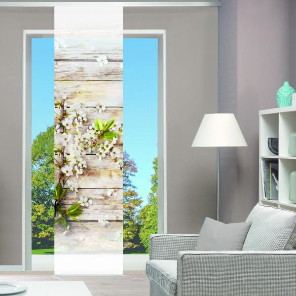 Schiebevorhang-Set für Ihr Wohn- oder Schlafzimmer