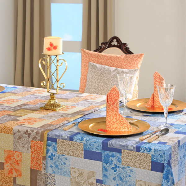 Tischdecke Patchwork für Ihren Küchen- oder Esszimmer-Tisch