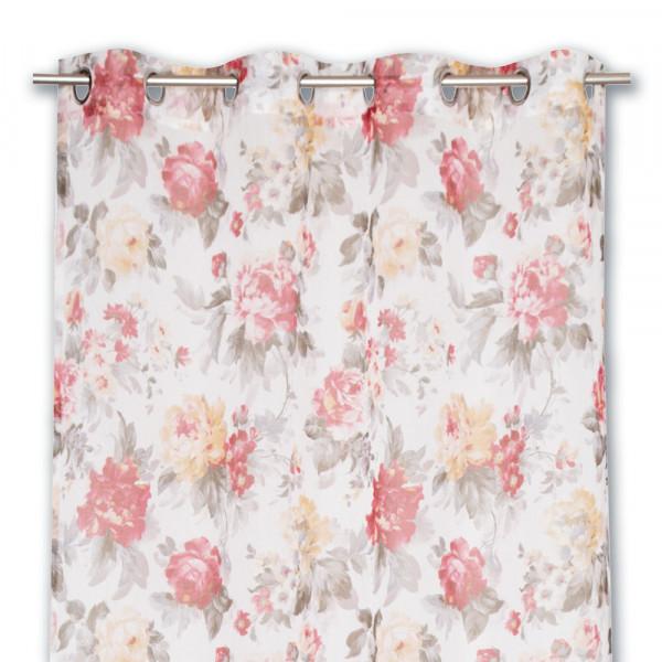 Floraler Vorhang für Ihr Wohn- oder Schlafzimmer