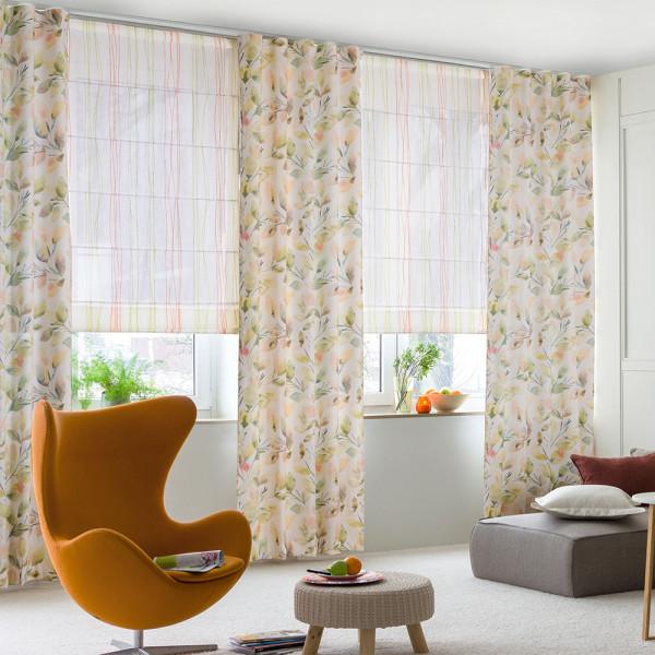 Harmonisches Blätterkunstwerk in Ihrem Wohnzimmer