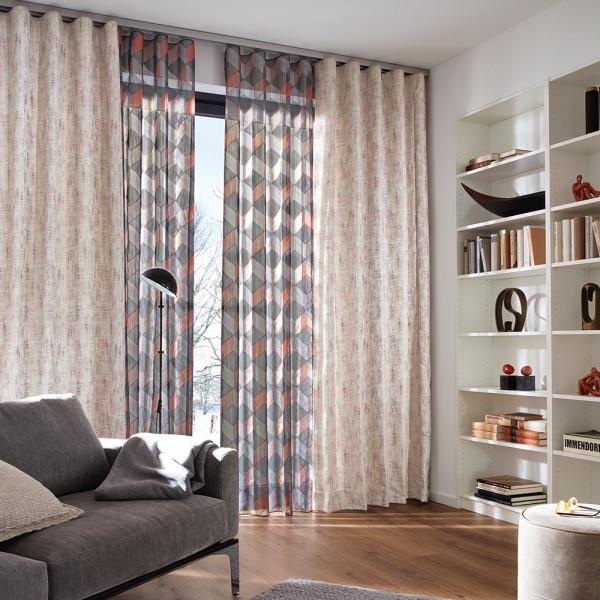 Vorhang-Deko für Ihr Wohnzimmer