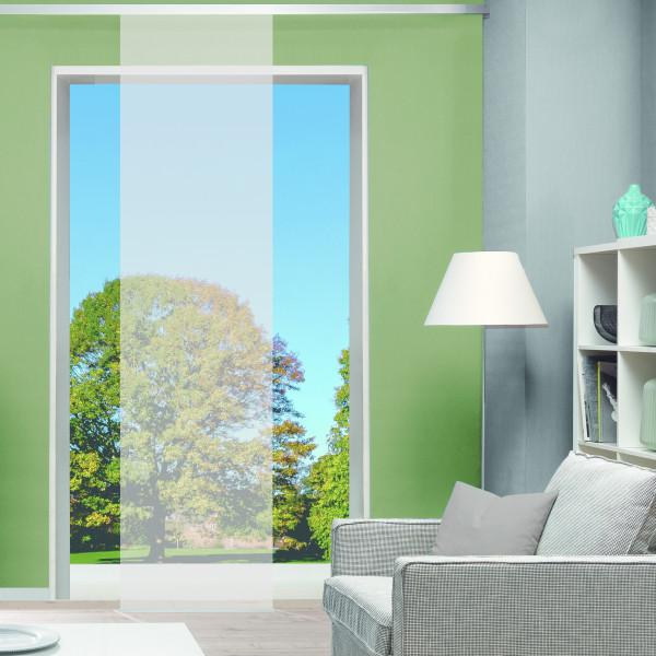 Schiebevorhang halbtransparent für Ihr Wohnzimmer