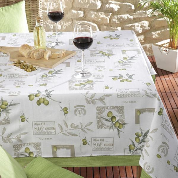 Tischdecke Marsala für Küche oder Esszimmer