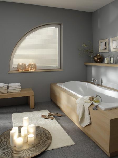 Plissee für Ihr Badezimmer